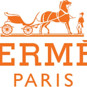 HERMES PARIS, Classic Vintage Poster by bebebelle