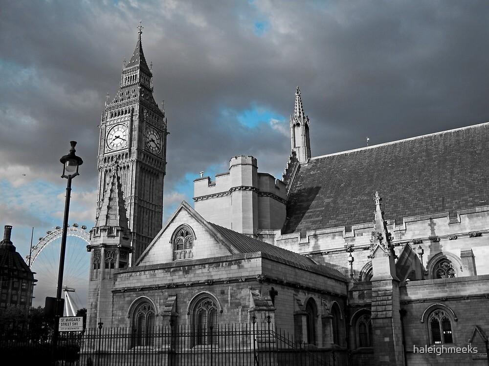 London Blues by haleighmeeks