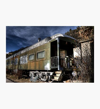 The Train Car Photographic Print