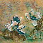 """""""The Turquoise Incarnation"""" from the series """"In the Lotus Land"""" by Anna Miarczynska"""