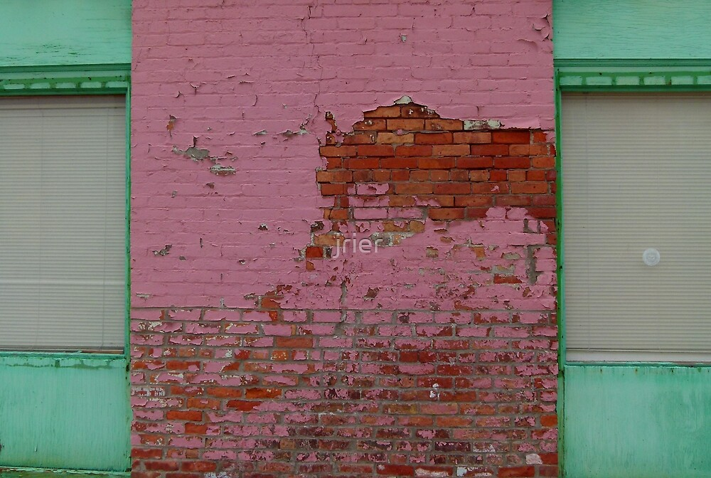 Pink building by jrier