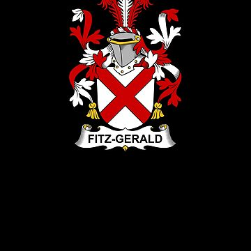 Fitz-Gerald Coat of Arms - Family Crest Shirt by FamilyCrest