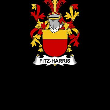 Fitz-Harris Coat of Arms - Family Crest Shirt by FamilyCrest