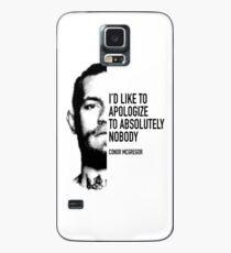 Conor McGregor - Apologize to Nobody Case/Skin for Samsung Galaxy