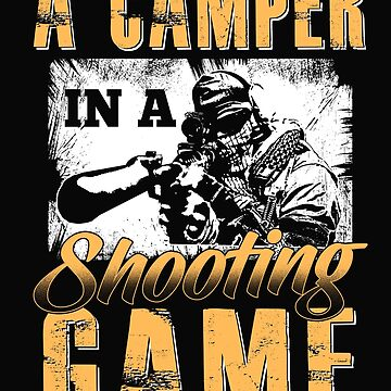 A camper in a shooting game by dtino