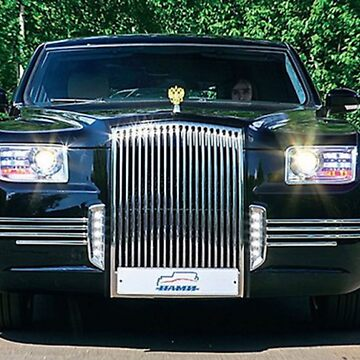 Presidential Limo. of Russia, Putin's Ride by bebebelle