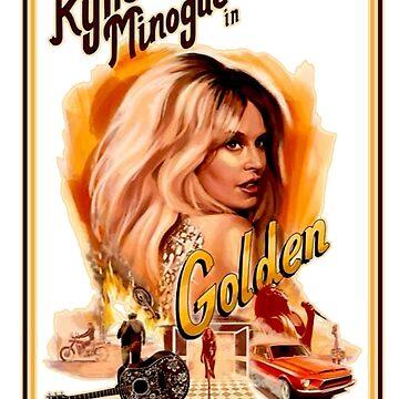 Kylie Minogue Golden by retropopdisco