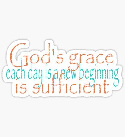 God's Grace Sticker