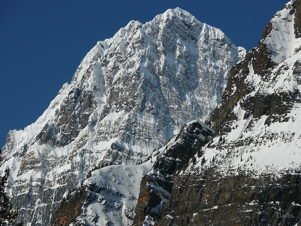 Howse Peak...majesty in the morning by Darbs
