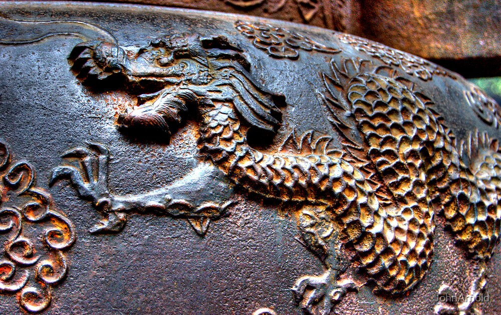 Dragon Urn. by JohnArnold