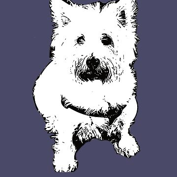 West Highland White Terrier - Westie Christmas Gifts by DoggyStyles