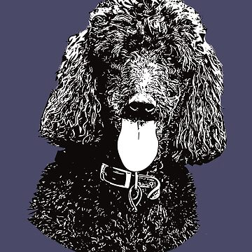 Poodle - Poodle Christmas Gifts by DoggyStyles