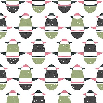 tribal seamless pattern by nastybo