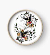 Swallows  Clock