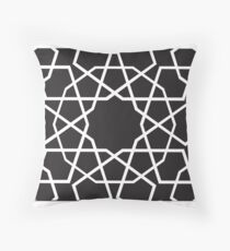 Islamic Tiling Pattern on Multiple Products Throw Pillow