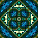 Art Deco Window by Martilena
