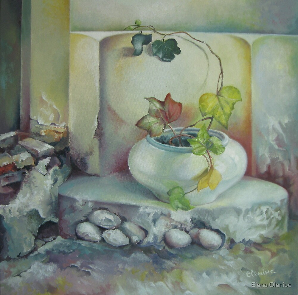 Need for balance by Elena Oleniuc