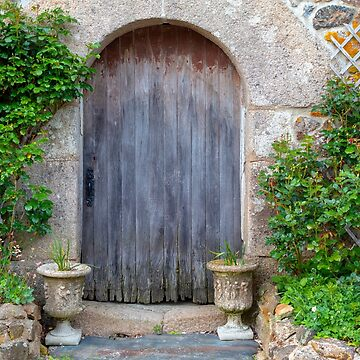 Old Rustic Barn Doorway in Brittany France by MarkUK97