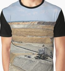 opet pit coal mine mining industry Graphic T-Shirt