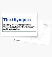 Olympische Spiele Postkarten