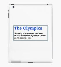 Olympics essntial iPad Case/Skin