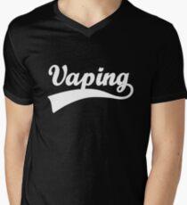 Swoosh Vaping Men's V-Neck T-Shirt