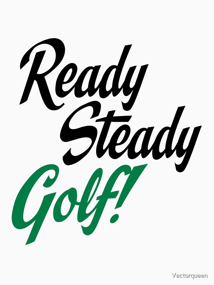 Ready steady golf by Vectorqueen