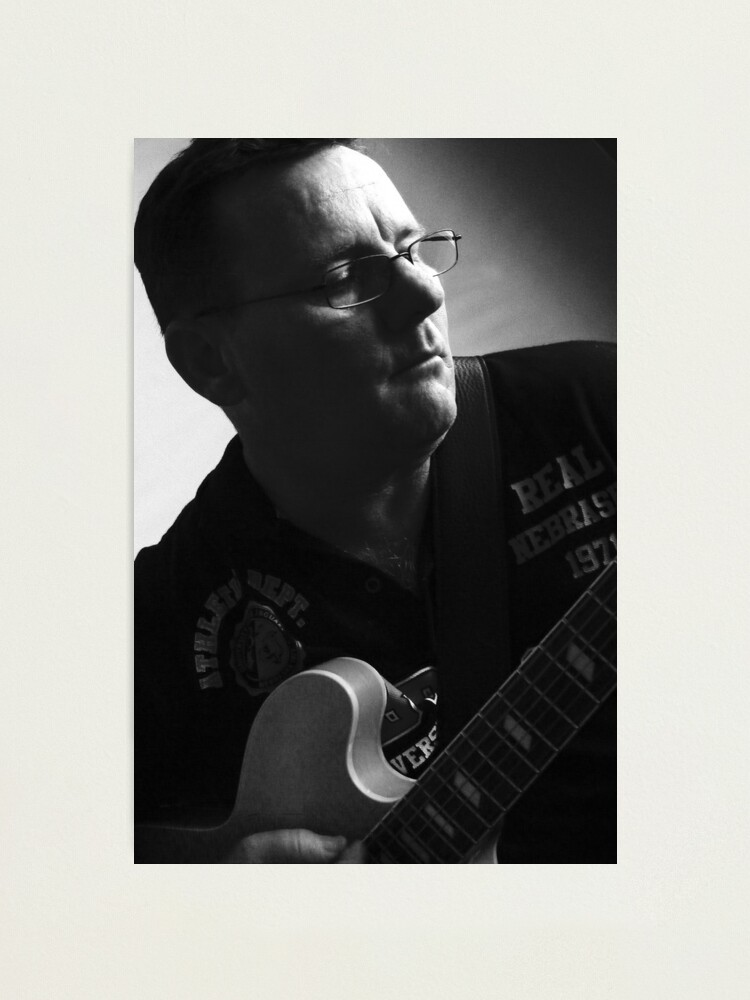 Alternate view of The Guitar Player # 2 Photographic Print