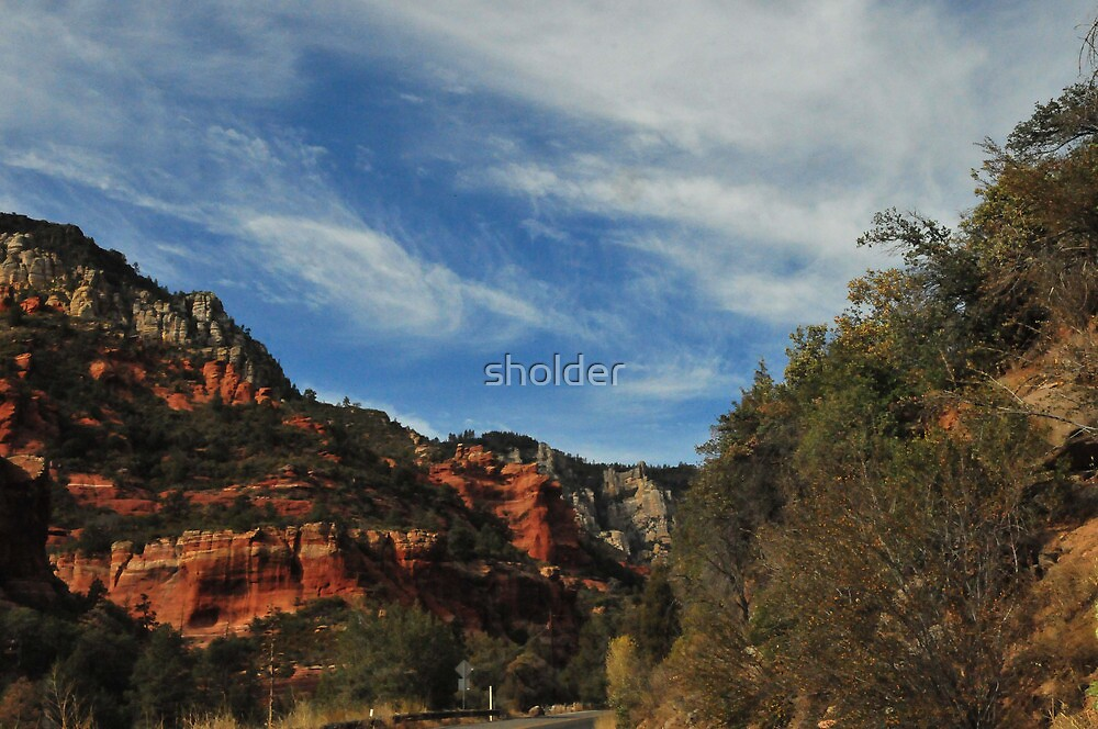 A view from Sedona II by sholder