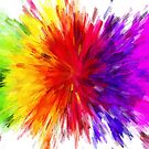 Rainbow Color Splat  by pinkarmy25