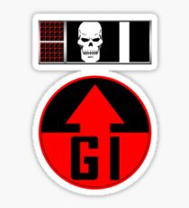 Helm BioChip and GI Badge Sticker