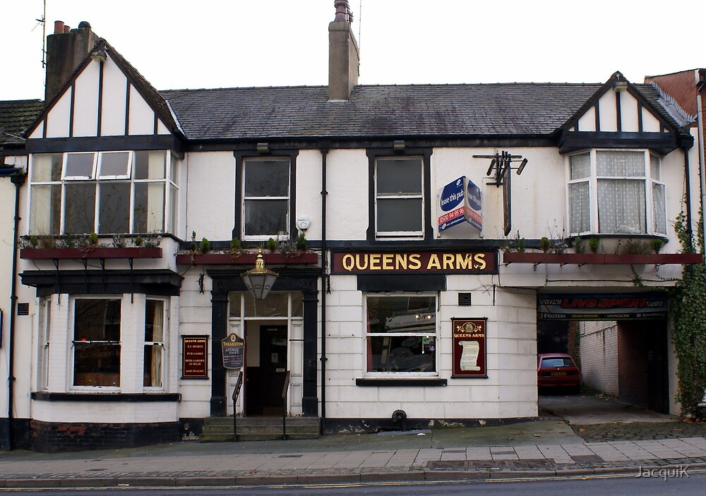 The Queens Arms by JacquiK