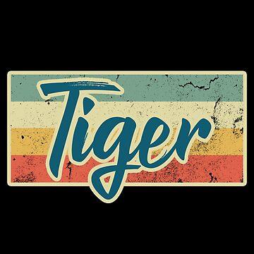 Tiger cat of prey by GeschenkIdee