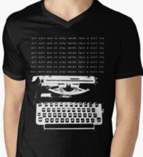dull boy... Men's V-Neck T-Shirt