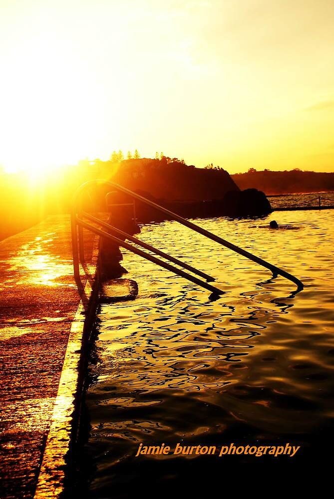 sunset by jamiie