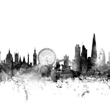 London England Skyline by ArtPrints