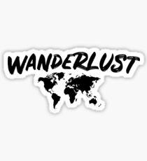 wonderlust gift T-Shirt Sticker