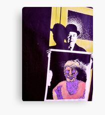 Meet Magritte. Canvas Print