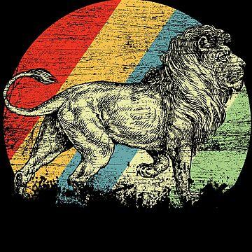 Lion animals by GeschenkIdee