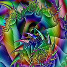 Rainbow Whirlwind by Thelma1