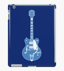 MUSICAL INSTUMENTS SILHOUETTES -  GRETSCH ELECTROMATIC iPad Case/Skin