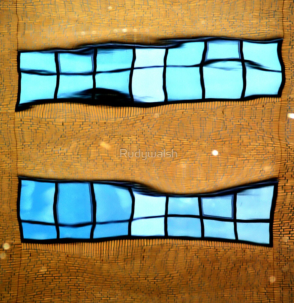 Top Window. by Rudywalsh