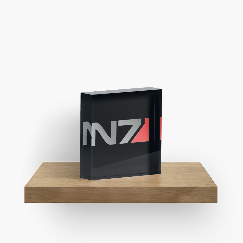 N7 Mass Effect Grafik Acrylblock