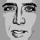 Nic Cages Gesicht auf vielen verschiedenen Dingen von Doctor Robert's Wall of Daft