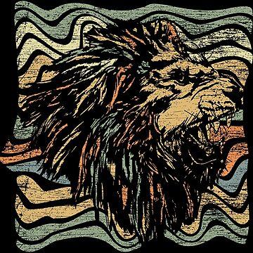 Lion mane by GeschenkIdee