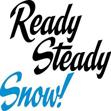 Ready steady snow by Vectorqueen
