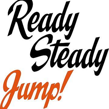 Ready steady jump by Vectorqueen