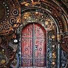 Steampunk Door by pinkarmy25