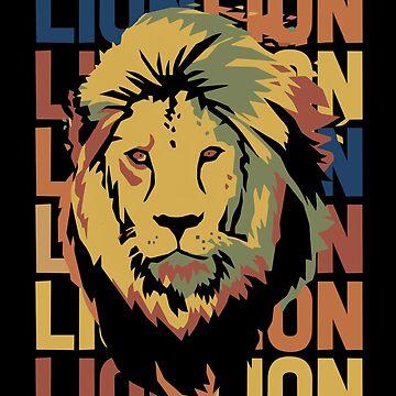 Lion Africa by GeschenkIdee