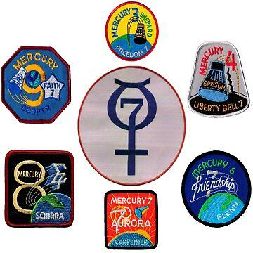 Project Mercury - Composite Logo by Spacestuffplus